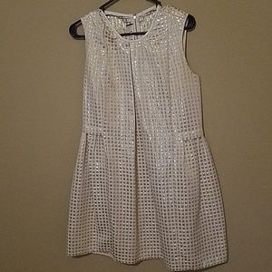 Marni dress gold and cream size M